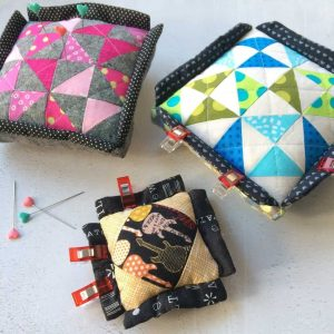 Clip'n'Pincushion by fabricandflowres | Sonia Spence