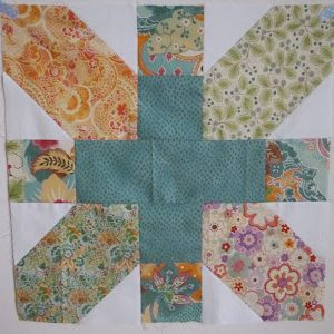 "Tutorial for 20"" x & + block by fabricandflowers 