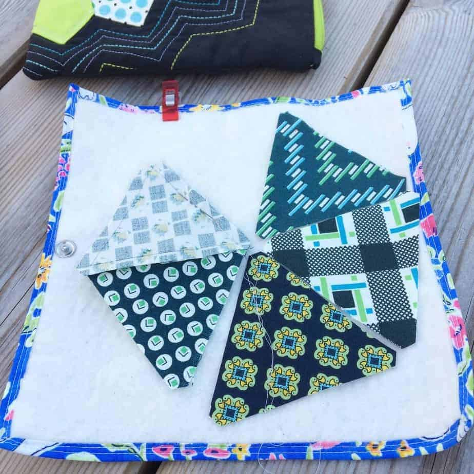 Smitten Quilt - tips for always being ready to Slow Sew by fabricandflowers | Sonia Spence