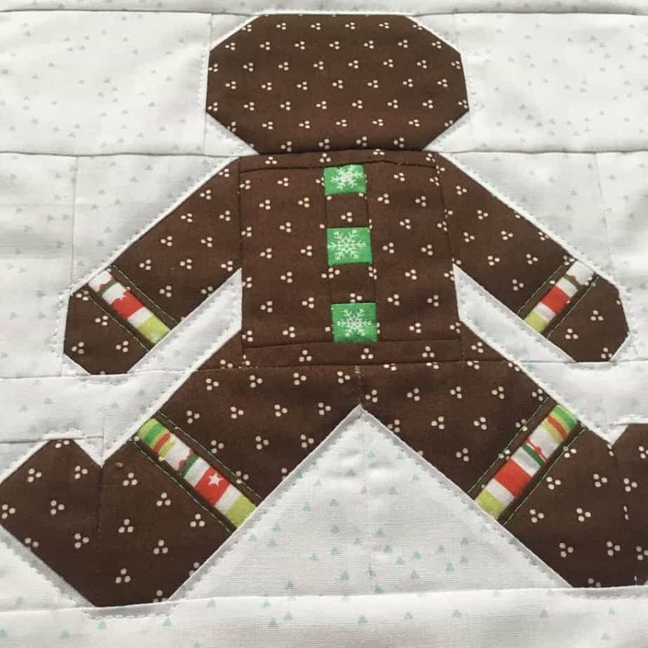 Gingerbread Man Christmas Banner