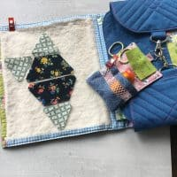 Flexi Sewing Case and Kit for sewing on the go