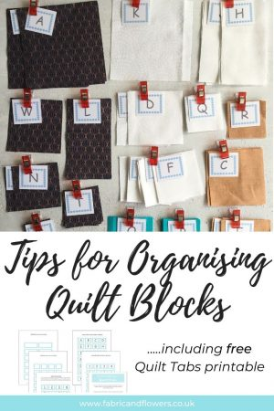 Tips for how to organise and piece a quilt block and quilt layout together successfully, whilst minimising mistakes, to make a Christmas Cushion.