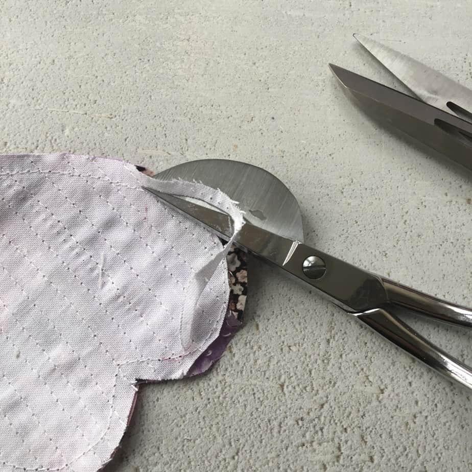 Tutorial for making a Boro Patchwork coaster using scrap fabrics.