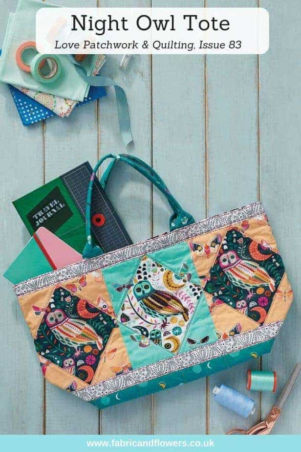Tote Bag for Love Patchwork & Quilting