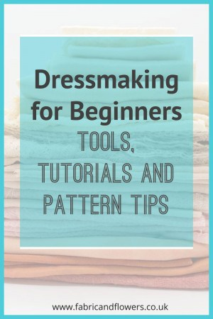 Beginner Dressmaking Tips by a Quilter