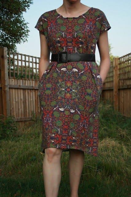 Beginnger dressmaking tips from a quilter - Staple Dress