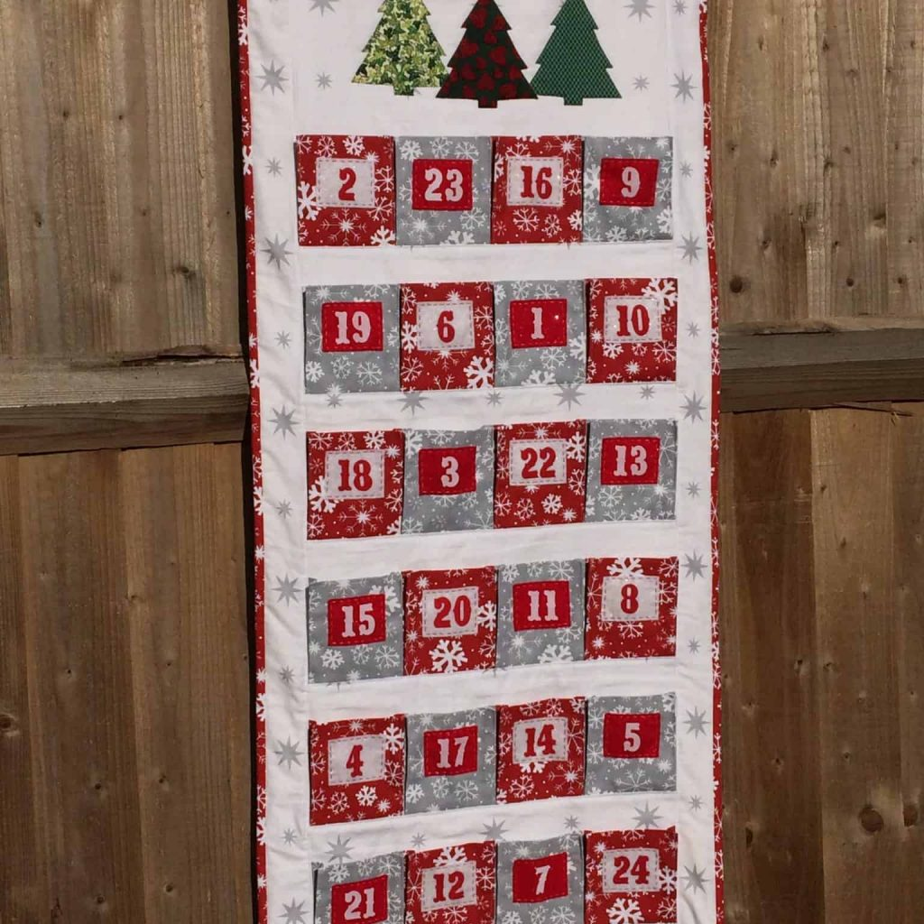 Big Pocket Advent Calendar by fabricandflowers | Sonia Spence